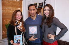 With Aasif Mandvi