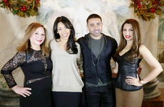With Jay Sean and Thara